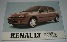 Betriebsanleitung Handbuch Renault Clio I Typ 57 Bedienungsanleitung 11/1991