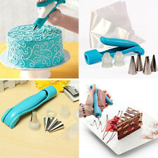 HOT Cake Craft Baking Pastry Icing Piping Bag Nozzle Tip Decoration Pen Set Tool