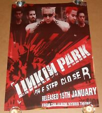 "Linkin Park One Step Closer ""Hybrid Theory"" Poster Original 33x23"