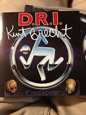 D.R.I. Crossover Audio CD Autographed DIRTY ROTTEN IMBECILES DRI Thrash Metal