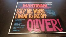 """Mantovani """"Stop The World I Want To Get Off / Oliver!"""" Vinyl Record LP - Stereo"""