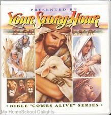 New YOUR STORY HOUR BIBLE COMES ALIVE #3 12 CDs Audio SET Old Testament Stories