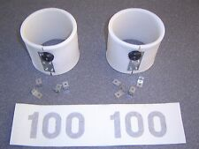 New set of Skee Ball 100 Point Scoring Rings with Mounting Brackets and Numbers