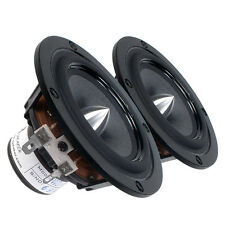 """Pair Tang Band W3-1364SA 3"""" Bamboo Cone Driver Speaker 8 ohms 25W 86 dB 0.75""""VC"""