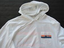 NWT Vineyard Vines Mens LS Graphic Pocket Whale Line Hoodie SMALL / Womens Large