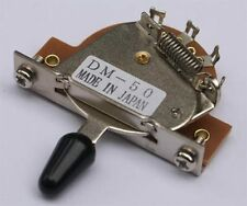 Gotoh 5-Way Strat® Style Selector Switch DM-50 - Made in Japan