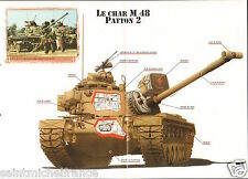 M 48 Patton 2 M 67 Flame tank Zippo 45 Tonnes US Army USA 1953 FICHE CHAR TANK