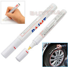 Permanent Waterproof Car Tyre Tire Metal Marker Paint Pen Quick-drying White