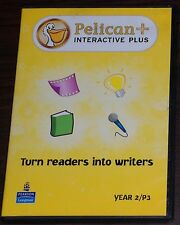 PC CD. Pelican Interactive Plus Turn Readers into Writers Year 2 / P3