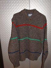 17213 ~ Pendleton Vintage Wool Nordic Print Sweater   Made In USA ~ L Large
