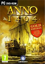 Anno 1404 Gold  with Anno 1404 Venice Expansion PC Brand New Sealed