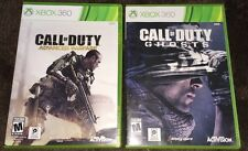 Xbox 360: Lot Of 2- Call of Duty: Advanced Warfare + COD Ghosts! Ships FREE!