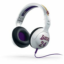 SKULLCANDY HESH II LA LAKERS KOBE BRYANT HEADPHONES CUFFIE PERSONAL USE NEW