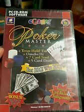 Poker Master (NEW SEALED) - PC GAME - FREE POST