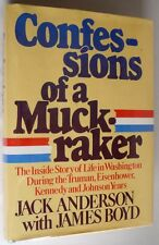 Confessions of a Muckraker 1979 Jack Anderson Signed 1st Ed HC DJ