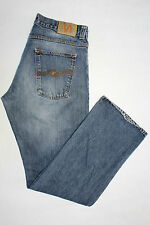 NUDIE JEANS Co. Mens Jeans W36 L32 Ragular Ralf Basic Dark Used Denim Cotton -11