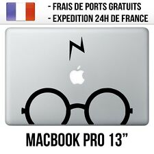 Sticker Macbook Pro 13 pouces - Lunettes Harry Potter