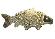 Common Carp Freshwater Game Fish Angling Fisherman Angler Enamel Pin Badge NEW