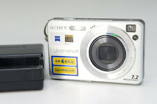 SONY Digital Camera Cyber-Shot DSC-W110 w/Recharger Free Ship 666f03