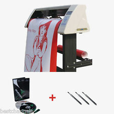 """48"""" Sign Sticker Vinyl Cutter Plotter With Contour Cut Function+Stand +Software"""
