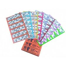 750 BOOKS 5 PAGE (GAMES) 6 TO VIEW JUMBO BINGO TICKETS SHEET