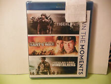 TIGERLAND, HARTS WAR, AND WINDTALKERS-WAR 3 FILM BLU-RAY-BRAND NEW/FACTORYsealed