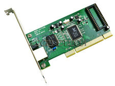 Gigabit RJ45 Ethernet LAN Network PCI with custom hardware MAC address change