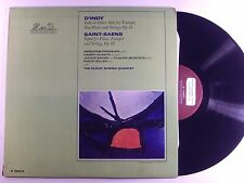d'indy- suite in olden style/saint-saens septet for piano lp h 25012   vg+/m-