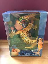 Anne Geddes soft bean filled doll under the sea Fish rare brand new