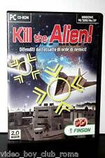 KILL THE ALIEN GIOCO USATO BUONO STATO PC CD EDIZIONE ITALIANAPAL 31443
