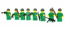 custom US Army WW2 minifigure complete squad made with real LEGO(R)
