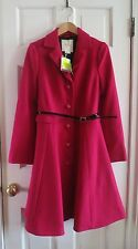 NWT Kate Spade New York carlyle patrice wool coat crushed raspberry 6