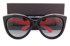 Brand New Dolce & Gabbana Sunglasses 4207 2764/T3 BLACK/RED for Women