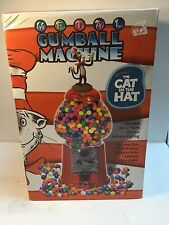"""**BIG SALE NOW!**NEW 2003 DR.SUESS' """"THE CAT IN THE HAT"""" METAL GUMBALL MACHINE"""