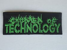 CHILDREN OF TECHNOLOGY EMBROIDERED PATCH