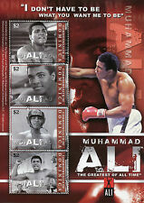 Dominica 2008 MNH Muhammad Ali Greatest All Time 4v M/S I Boxing Sports Stamps