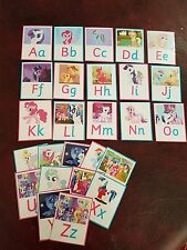 MY LITTLE PONY - LEARN THE ALPHABET / LETTERS - EYFS- SEN- CHILDMINDER