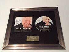 SIGNED/AUTOGRAPHED TOM BAKER AT 80 FRAMED CD PRESENTATION. DR WHO. DOCTOR WHO IV