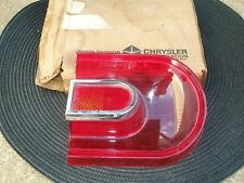 1965 Dodge Dart 170 270 GT NOS MoPar Right OUTER TAIL LAMP LENS #2525688