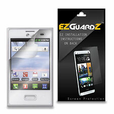 2X NEW EZguardZ Screen Protector Shield 2X For LG Optimus Dynamic (Ultra Clear)