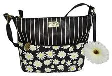 NWT BETSEY JOHNSON DAISY FLORAL FLOWER CROSSBODY SHOULDER BAG HANDBAG PURSE $68