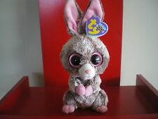 Ty Beanie Boo WOODY the rabbit inch NWMT.  RETIRED & HARD TO FIND.