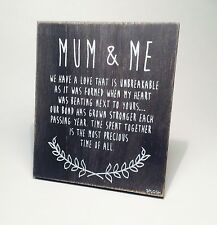 Splosh Mum & Me Poem Great Gift Ideas for Her Mother For Christmas VIN504