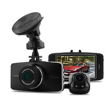 "Newest Ambarella A7LA70 3""Screen Full HD 1080P Car Dual Dash Park Camera DVR GPS"