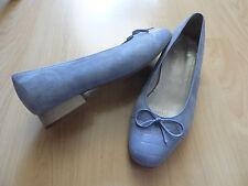 VIA MILANO Leder Schuhe, Ballerinas,Gr. 39 bzw.6 G in Lila/Flieder - wie NEU!