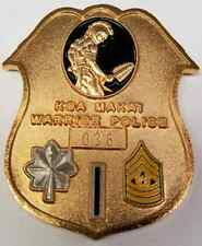 US Army 19th Military Police Battalion KOA MAKA'I Warrior Police Serial #036