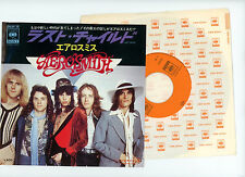"AEROSMITH 7"" PS Japan LAST CHILD"