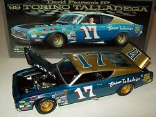 David Pearson 1969 Torino Talladega #17 East Tennessee Motor 1/24 Racing Legends