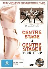 Centre Stage / Centre Stage 2 - Turn It Up : NEW DVD