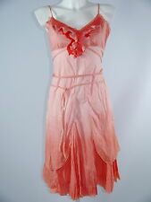 Chilli Pepper HIPP Kleid Trägerkleid  Lachs-orange-koralle Gr.36 TOP NEU-wie neu